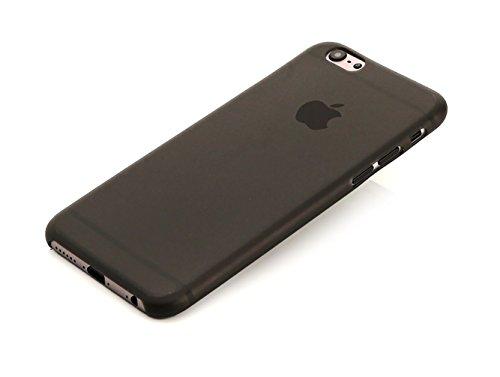 arktispro federleichte schutzh lle f r apple iphone 6 matt schwarz transparent smartphony. Black Bedroom Furniture Sets. Home Design Ideas