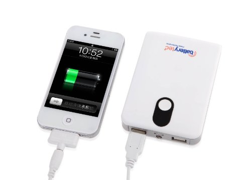 batterytec portable ladeger t handy akku pack 8800mah external battery pack energien bank. Black Bedroom Furniture Sets. Home Design Ideas