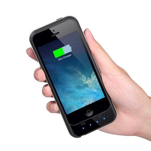 apple zertifizierte easyacc mfi 3000mah iphone 5 5s batterie h lle case externe batterie akku. Black Bedroom Furniture Sets. Home Design Ideas