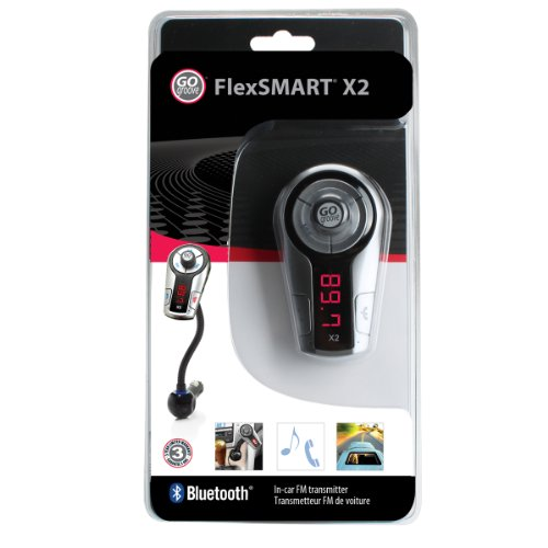 gogroove flexsmart x2 bluetooth fm transmitter f r auto. Black Bedroom Furniture Sets. Home Design Ideas