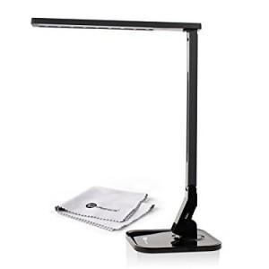 taotronics 14w schreibtischlampe led tischlampe 4 modi dimmbar mit eingebautem usb anschluss zum. Black Bedroom Furniture Sets. Home Design Ideas
