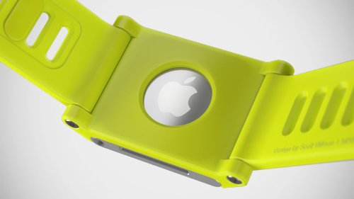 TikTok Uhrenarmband für iPod Nano, Gelb