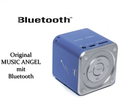 bd music angel original blau bluetooth mini wireless. Black Bedroom Furniture Sets. Home Design Ideas