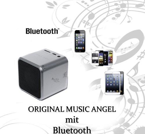 bd music angel original silber bluetooth mini wireless. Black Bedroom Furniture Sets. Home Design Ideas