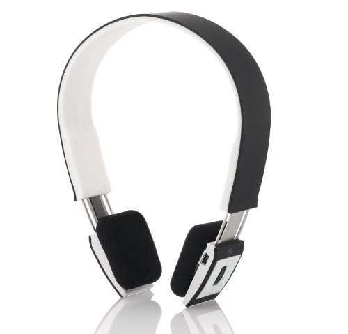 deleycon bluetooth headset kopfh rer ohrh rer sport schwarz stereo verstellbare gr e. Black Bedroom Furniture Sets. Home Design Ideas