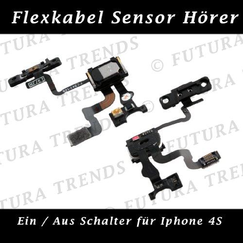 futuratrends fukaytec kompatibel ersatz f r iphone 4s flex. Black Bedroom Furniture Sets. Home Design Ideas