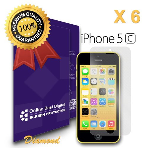 onlinebestdigital displayschutzfolie f r apple iphone 5 5s 5c diamond obd retail. Black Bedroom Furniture Sets. Home Design Ideas